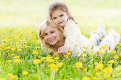 woman-child-field